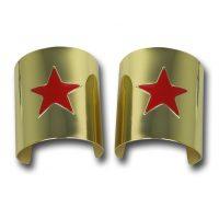 Wonder Woman Metal Costume Cuff Bracelets