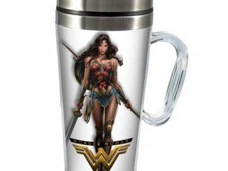 Wonder Woman Movie 16 oz. Stainless Steel Travel Mug