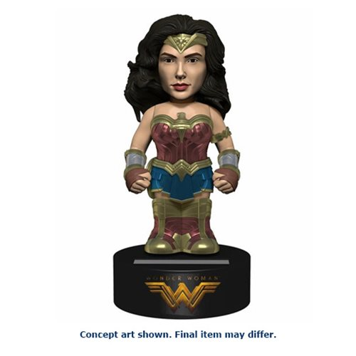Wonder Woman Movie Wonder Woman Solar-Powered Body Knocker