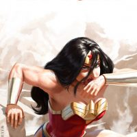 Wonder Woman My Turn Art Print