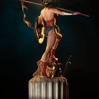 Wonder Woman Premium Format Figure Back