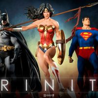 Wonder Woman Premium Format Figure Trinity
