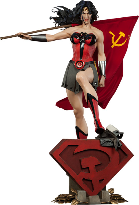 Wonder Woman Red Son Premium Format Elseworlds Figure