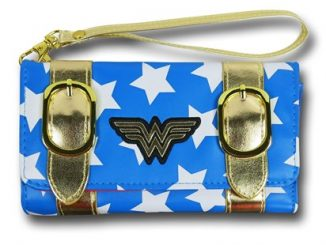 Wonder Woman Satchel Fold Ladies Wallet