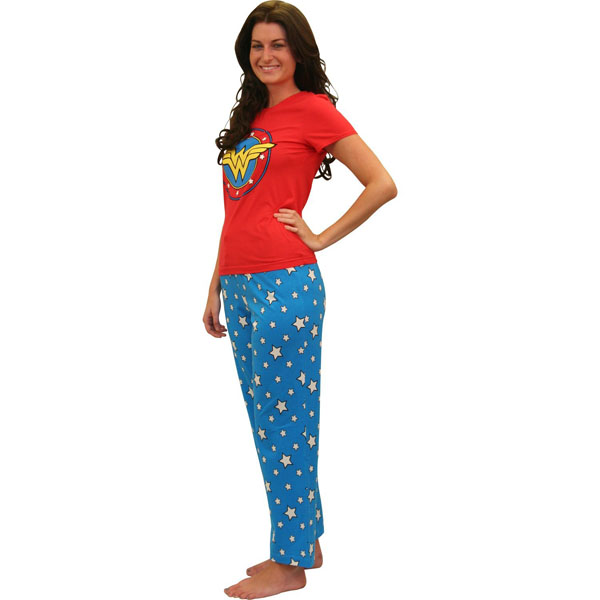 Wonder Woman Superhero Pajama Set
