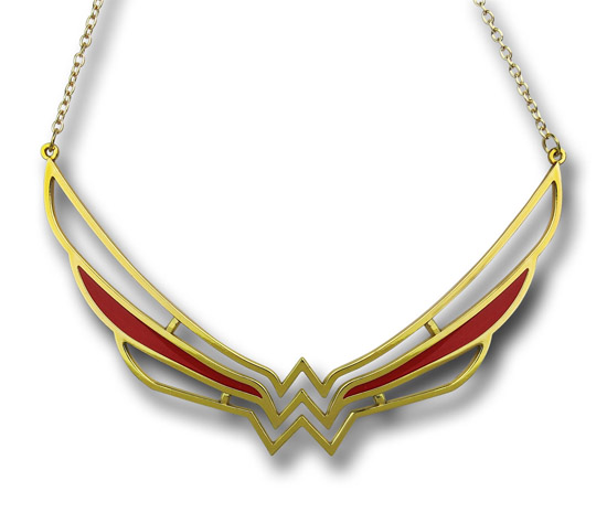 Wonder Woman Symbol Collar Necklace 1