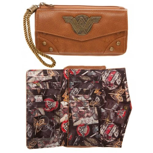 Wonder Woman Top Zip Wallet