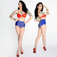 Wonder Woman Two-Piece Bikini Set