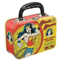 Wonder Woman Vintage Comic Small Tin Tote