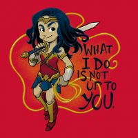 Wonder Woman Wonder Quote Shirt