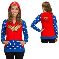 Wonder Woman Zipper Hoodie