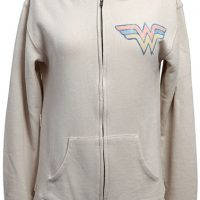 Wonder Woman Zipper Retro Hoodie
