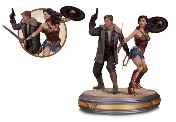 wonder-woman-and-steve-trevor-movie-statue