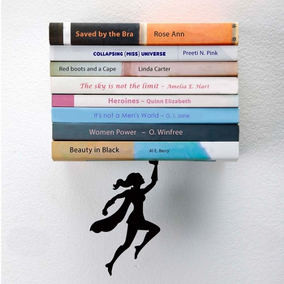 Wondershelf Floating Bookshelf