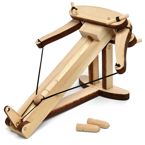 Wooden ballista kit for Woodworks design office 8