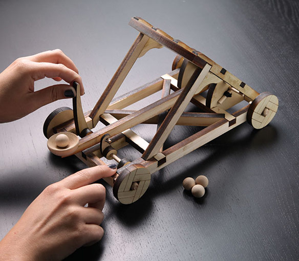 Wooden Catapult Kit