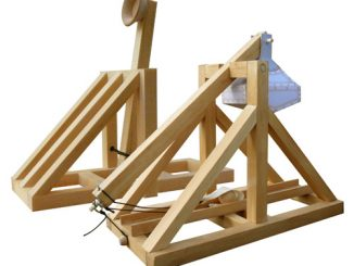 Wooden Catapult and Trebuchet Kits