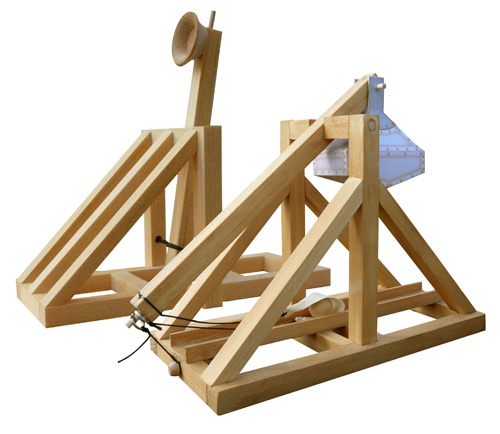 Wooden Catapult Design Wooden catapult and trebuchet