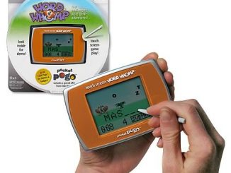 Word Whomp Touch Screen Pocket Pogo Game