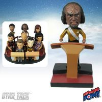 Worf Build-a-Bridge Deluxe Bobble Head
