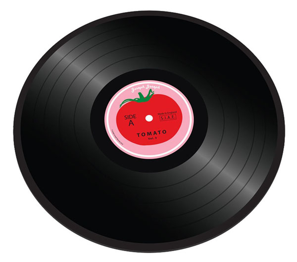 Worktop Saver Tomato Vinyl Chopping Board
