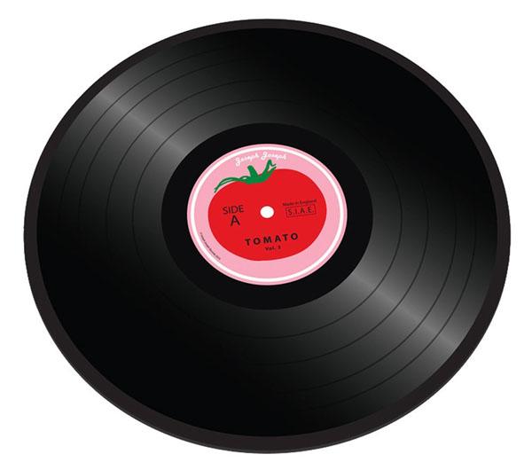 Worktop Saver Tomato Vinyl Chopping Board