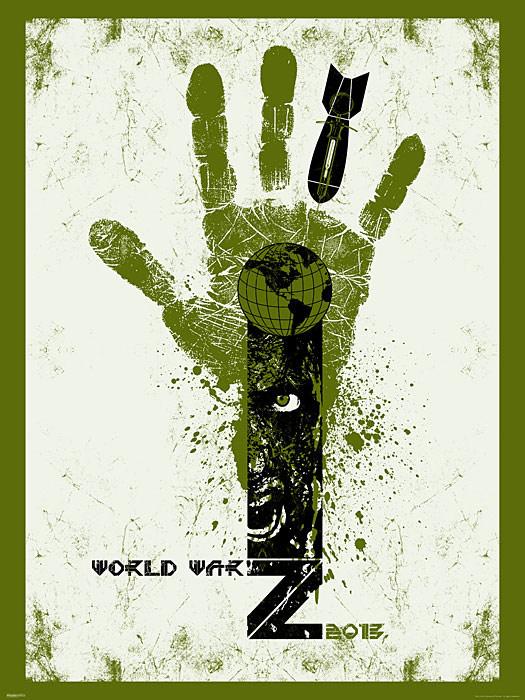 World War Z Movie Limited Edition Prints