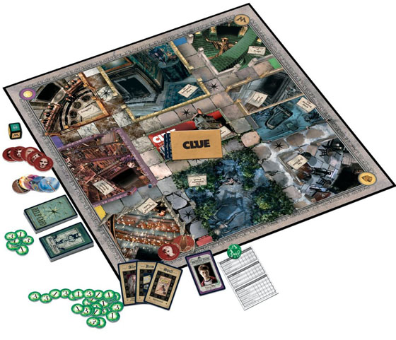 World of Harry Potter Clue Game 2011