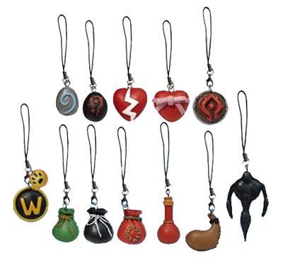 World of Warcraft Cell Phone Charms