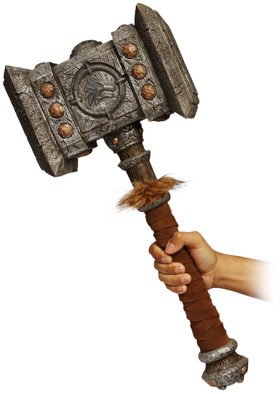 World of Warcraft Giant Foam Doomhammer Replica