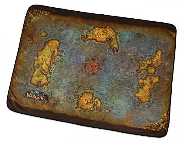 World of Warcraft Map of Azeroth Fleece Blanket