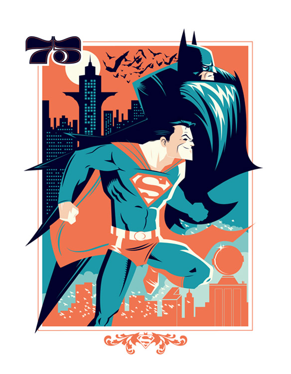 World's Finest 75 Art Print