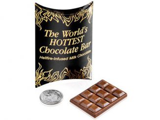 World's Hottest Chocolate Candy Bar