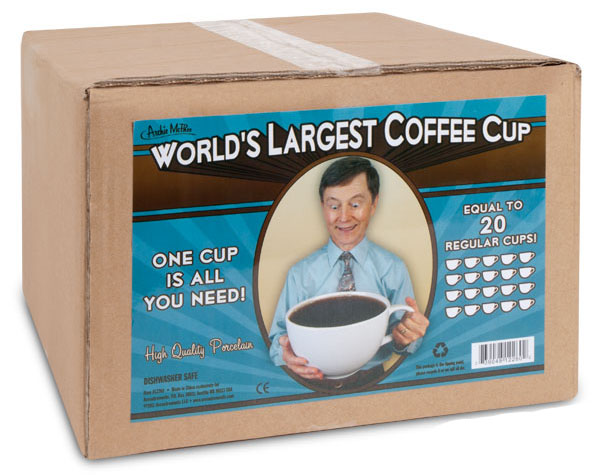 World's Largest Coffee Mug