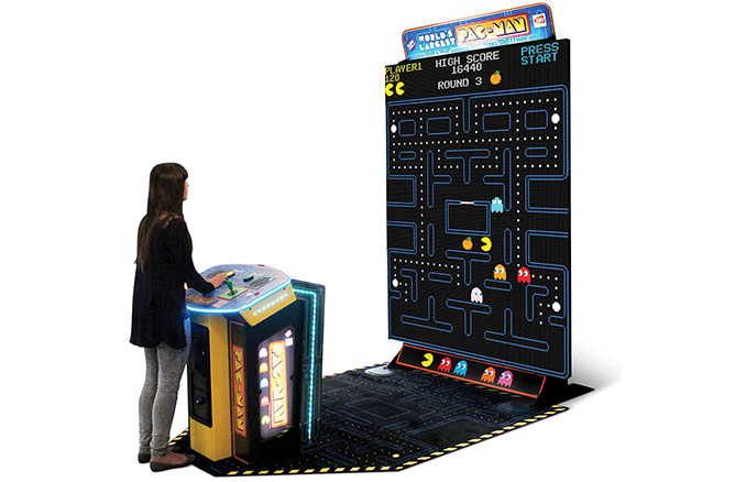 The Worlds Largest Pac Man Game