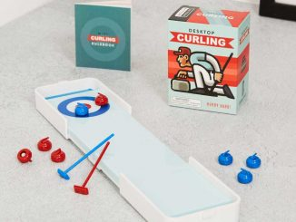 Worlds Smallest Curling Set