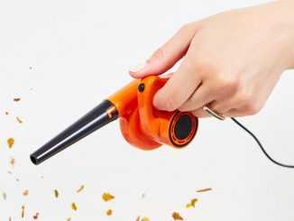 World's Smallest Leaf Blower