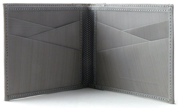 Woven Stainless Steel Wallet