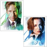 X-Files Lithograph Art Prints by Steve Anderson