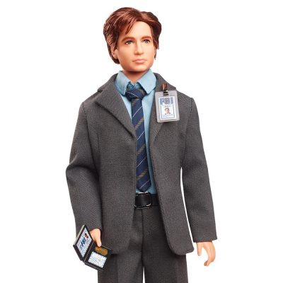 X-Files Mulder Barbie Doll