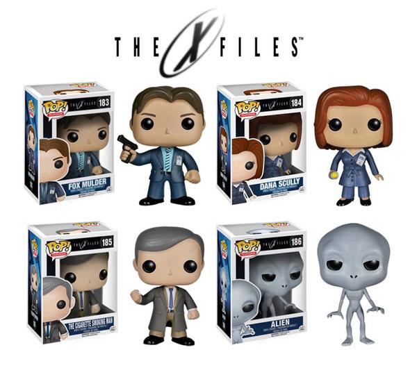 X-Files Pop Vinyl Figures