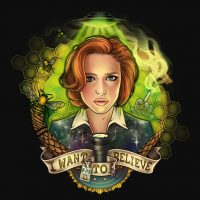 X-Files Portrait of a Skeptic Shirt