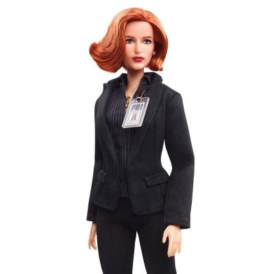 X-Files Scully Barbie Doll