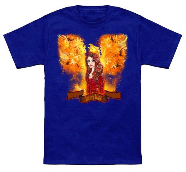 X-Men Angry Bird T-Shirt