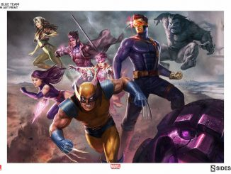 X-Men Blue Team Print