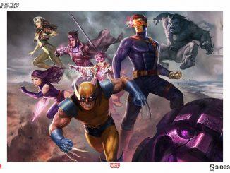 X-Men Blue Team Print