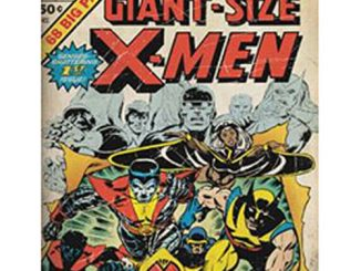 X-Men Giant Size Canvas Wall Art