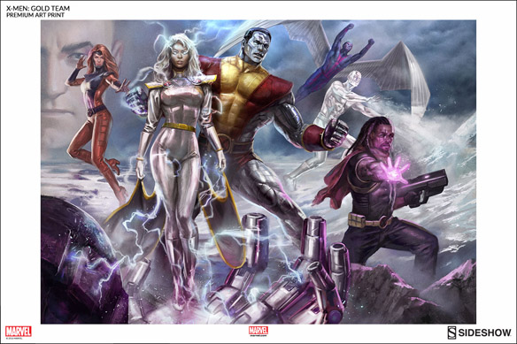 X-Men Gold Team Premium Art Print