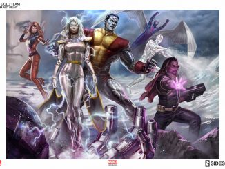 X-Men Gold Team Print