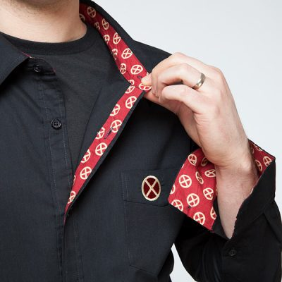 X-Men Logo Dress Shirt